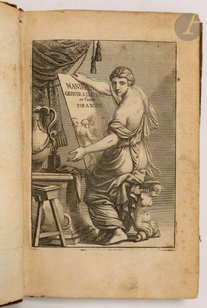 BOSSE (Abraham). Traité des manières de graver en taille-douce sur l'airain, par...