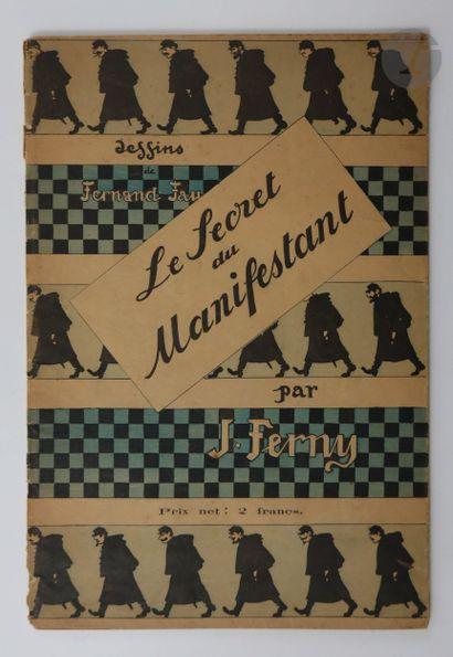 FERNY (Jacques). Ombres du « Chat Noir»....