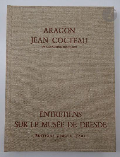 ARAGON (Louis) - COCTEAU (Jean). Entretiens...