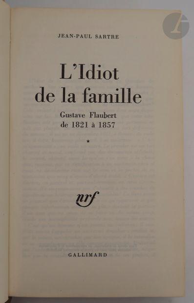 SARTRE (Jean-Paul). L'Idiot de la famille....