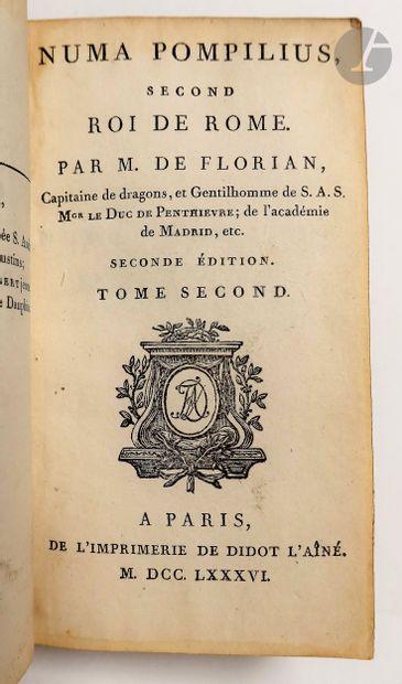 FLORIAN (Jean-Pierre Claris de). Numa Pompilius, second roi de Rome. Seconde édition....