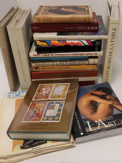 [HISTOIRE DE L'ART] Ensemble de 22 ouvrages:...