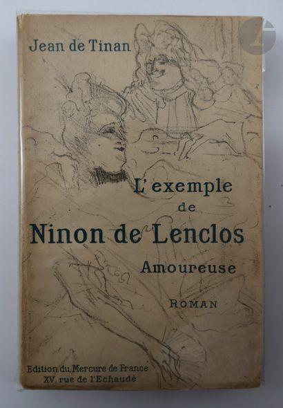 [TOULOUSE-LAUTREC (Henri de)] - TINAN (Jean...