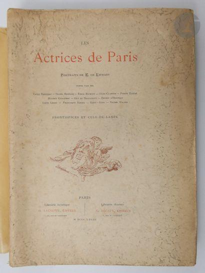 [THÉÂTRE] - COLLECTIF. Les Actrices de Paris....