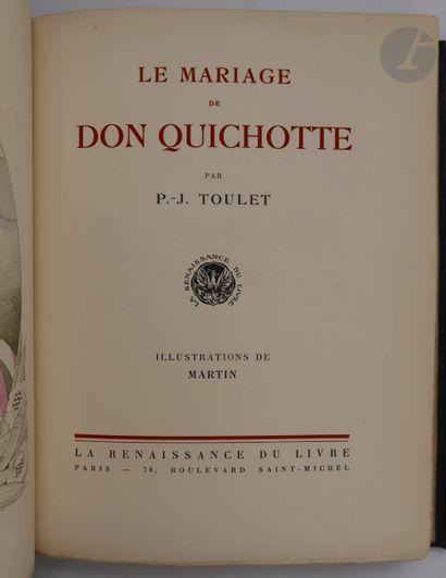 TOULET (Paul-Jean) - MARTIN (Charles). Le...