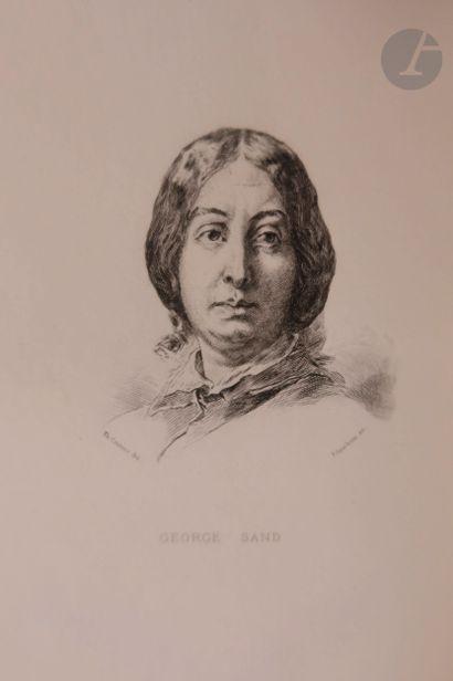 SAND (George). La Marquise. Paris : Calmann...