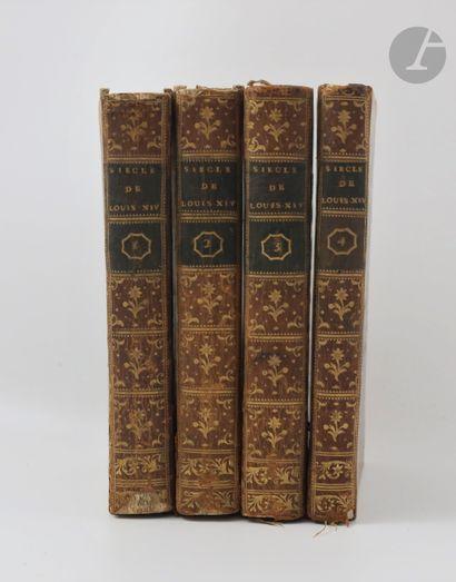 VOLTAIRE. Siècle de Louis XIV. Nouvelle édition,...