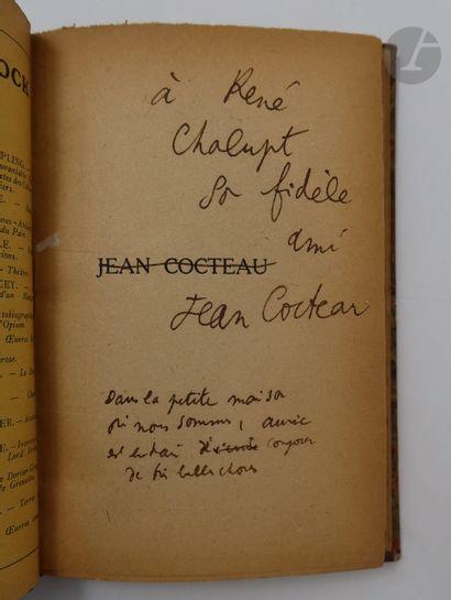 COCTEAU (Jean). Le Secret professionnel....