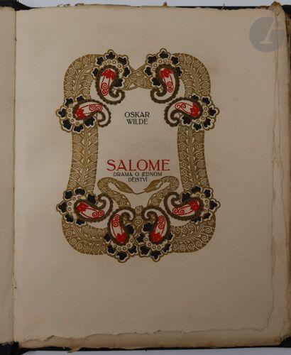 WILDE (Oscar). Salome, drama o jednom dejstvi....