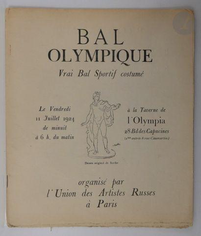 [ARTISTES RUSSES (Union des)]. Bal Olympique....