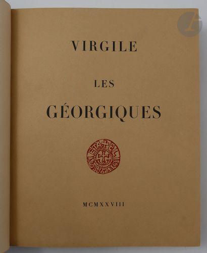 VIRGILE. Les Géorgiques. Traduction de l'abbé...