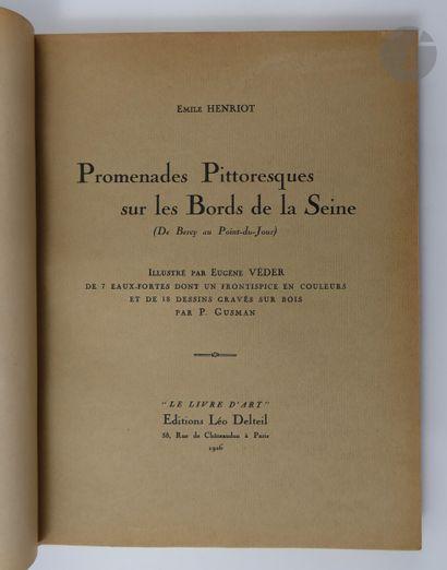 HENRIOT (Émile). Promenades Pittoresques...