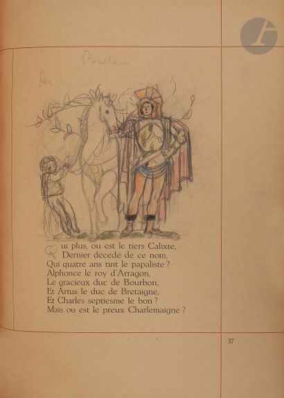 VILLON (François) - MARTIN (Charles). Le...