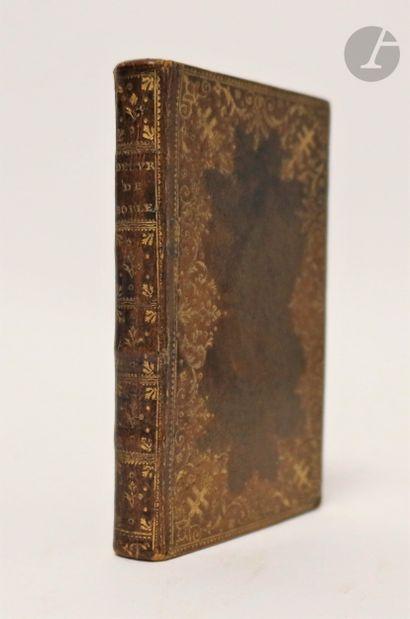 BOILEAU (Nicolas). Œuvres choisies. Paris : imprimerie de Didot l'aîné, 1781. —...