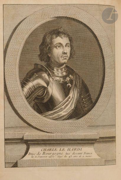 COMMYNES (Philippe de). Mémoires… Où l'on trouve l'Histoire des Rois de France Louis...