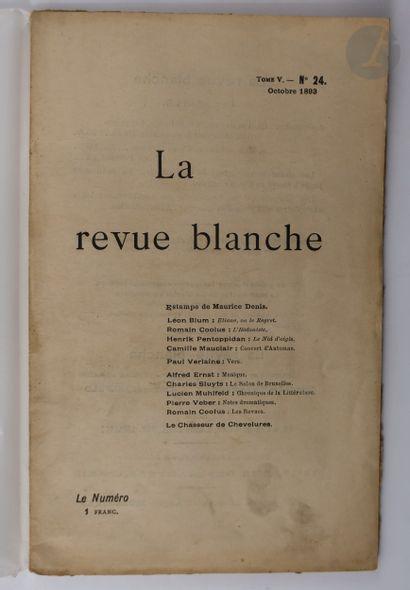 [DENIS (Maurice)]. La Revue Blanche. Paris...