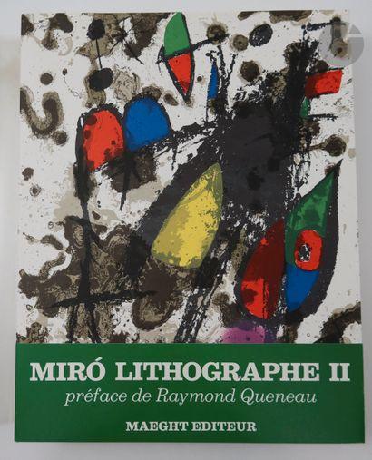 [MIRÓ (Joan)]. Joan Miró Lithographe II....