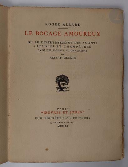 ALLARD (Roger) - GLEIZES (Albert). Le Bocage...