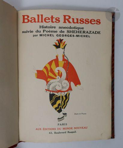 [BALLETS RUSSES] - GEORGES-MICHEL (Michel)....
