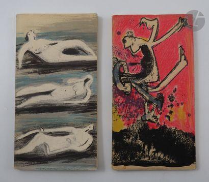 BERGGRUEN. Ensemble de 2 catalogues illustrés...