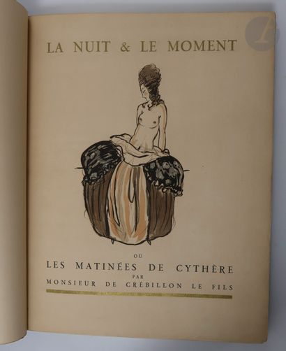 CRÉBILLON (Claude-Prosper Jolyot de). La...