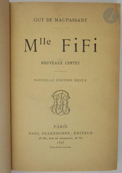 MAUPASSANT (Guy de). Mlle Fifi. Nouveaux...
