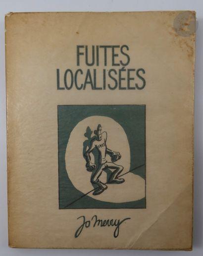 MERRY (Jo). Fuites localisées. Alger : Éditions...