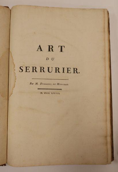[ARTS ET MÉTIERS]. Ensemble de 14 ouvrages reliés en 6 volumes, faisant partie de...