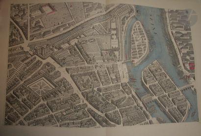 [TURGOT - Louis BRETEZ]. Plan de Paris,...