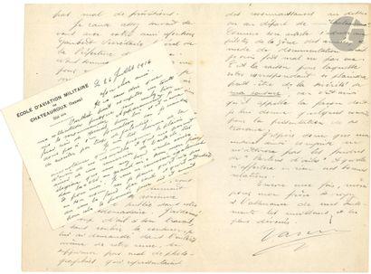AVIATION. Léopold VARCIN (1884-1967) as de...
