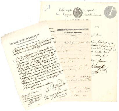 SCIENCES et MÉDECINE. 30 lettres de médecins,...
