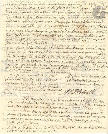 Fréderic-Auguste d'ANHALT-ZERBST (1734-1793)...