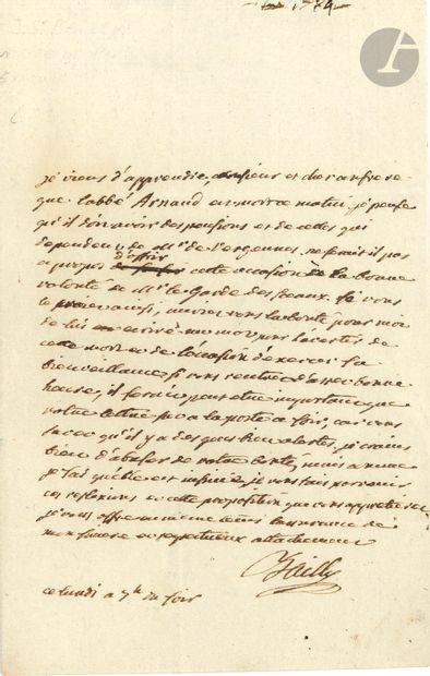 Jean Sylvain BAILLY (1736-1793) savant et...