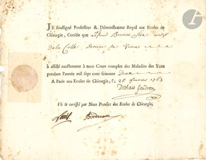 Antoine LOUIS (1723-1792) chirurgien, inventeur...