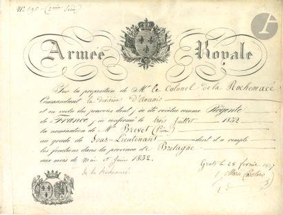 Marie-Caroline, duchesse de BERRY (1798-1870)...