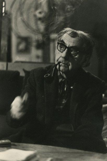 Michel Maïofiss (1943) Man Ray, 1967. Épreuve...