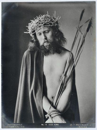 F. Bruckmann Jeu de la Passion (représentation...