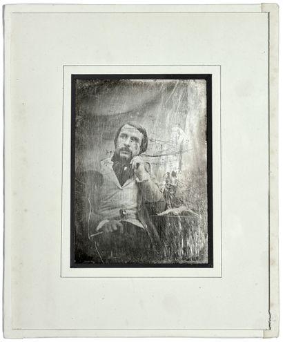 Daguerréotypiste non identifié Sculpteur,...