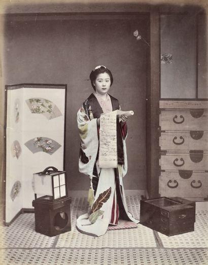 Photographe non identifié Japon, c. 1880-1890....