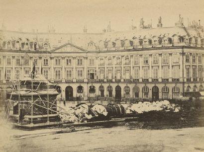 Philip Loubère Ruines de Paris, 1871. Monuments...