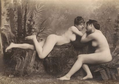 Photographe non identifié Nus féminins, c....