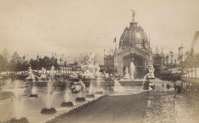 Photographe non identifié Exposition universelle, Paris 1889. Vue générale prise...