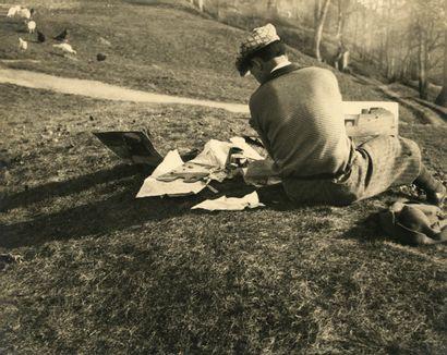 Jan Lauschmann (1901-1991) L'artiste, 1931....