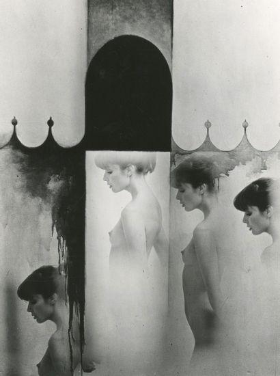 Sam Haskins (1929-2009) Nu féminin, c. 1970....