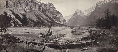 Adolphe Braun (1812-1877) Alpes suisses,...
