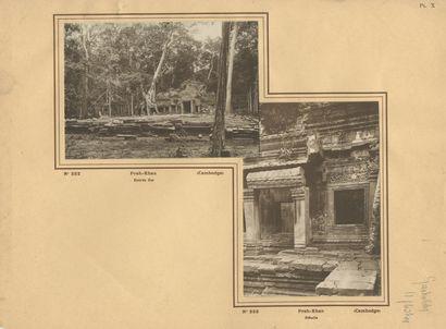 Édition P. Gastaldy Cambodge, 1932. Ruines...