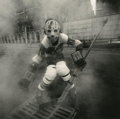 Arthur Tress (1940) Hockey player, New-York,...