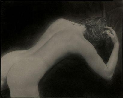 Claude Fauville (1940) Nu féminin, c. 1990....