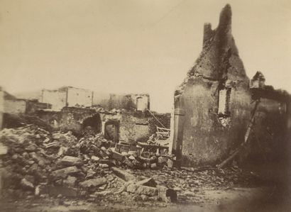 J. B. Gerst & V. Schmidt La guerre d'Alsace, c. 1870-1871. Belfort. Montbéliard,...