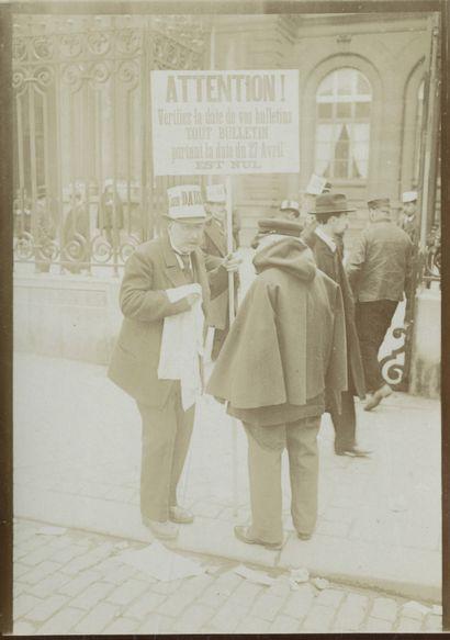 Paul Géniaux (1873-1929) Élection et affiches...